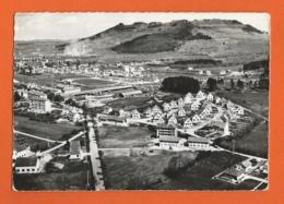 EN AVION AU-DESSUS DE ... CHAMPAGNOLE, STADE DE FOOTBALL, Le Mont Rivel, Les H.L.M. Et Les Castors - Champagnole