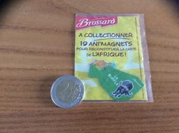 Magnet Brossard Savane Série 19 AFRIQUE (NIGER, LE BUFFLE) - Magnets