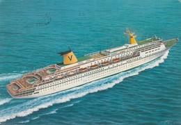 Sitmar Cruises , 1985 ; Ship Fairsky - Paquebots