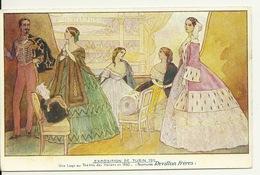 EXPOSITION DE TURIN 1911 / UNE LOGE AU THEATRE DES ITALIENS EN 1860 - Expositions