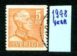 SVEZIA - SVERIGE - Year 1948 - Usato - Used - Utilisè - Gebraucht. - Svezia