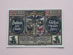 GUTSCHEIN Der STADT - SPREE - 50 Pfennige NOTGELD - 1921 - 14983 ( Details Zie Foto ) ! - [11] Emissions Locales