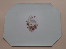 Savon Au Bouquet De VIOLETTES ( Voir Photo Pour Detail Svp ) Format +/- 20 X 16 Cm. > Tarif Postale 4,08 Eu > La France! - Etiquettes