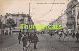 CPA BRUXELLES BOULEVARD DU HAINAUT  TRAM ( MANQUE ANGLE ) EDITION VICTORIA - Lanen, Boulevards