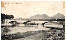 INTRA - PONTE SAN BERNARDINO  - ED.SORELLE ISORNI - VG 1911 FP - C300 - Verbania