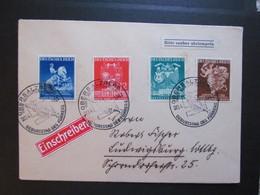 DR Nr. 768-771, R-Brief Obersalzberg, Satzbrief, 1941 *DEL2094* - Germany