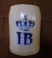 CHOPE Bière HB Hofbräuhaus Grab Mug Beer Krug Bier Céramique Grès Stoneware Sandstein 0,5L Allemagne Deutschland Germany - Bière