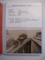 LANGRES (52) CHEMIN De FER à  Voie étroite Et Crémaillère Système Riggenbach - LOT De 30  Documents - Voir Les Scans - Trains