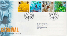Great Britain Set On Used FDC - Carnival