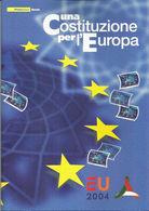 2004 - FOLDER COSTITUZIONE EUROPA - 6. 1946-.. Republik