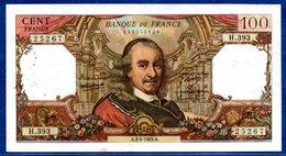 100 Francs Corneille   /  3 - 4 - 69 /  Beau TTB - 1962-1997 ''Francs''