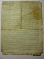 JOURNAL DU SOIR 1797 - TRAITE DE PAIX HONGRIE - PATENTES - DESERTEURS - PRISES MARITIMES MARINE - MONTAUBAN - TARN - Zeitungen - Vor 1800