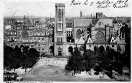 Carte Postale Ancienne - Circulé - Dép. 75 - PARIS - église SAINT GERMAIN L' AUXERROIS - Eglises