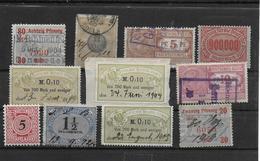 Deutsches Reich Lot Revenues Stempelmarken - Germany