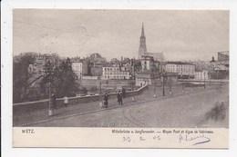 CPA 57 METZ Moyen Pont Et Digue De Vatrineau - Metz