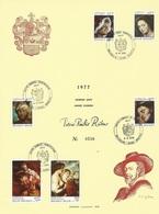 Bekgië   O.B.C. Herdenkingsblad  1816 / 1821  (0)   Rubens - Herdenkingskaarten