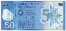 Uruguay NEW - 50 Pesos 2017 - UNC - Uruguay