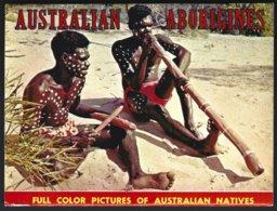 CP Photos John Shultze-The Australian Aborigines,12 Recto-verso+1=13 Full Color Pictures. Non Circulé-unused - Océanie
