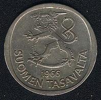 Finnland, 1 Markka 1966, Silber - Finlande