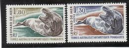 B1 - TAAF PO 89/90 ** MNH De 1990 - FAUNE - LEOPARD De MER. - Terres Australes Et Antarctiques Françaises (TAAF)