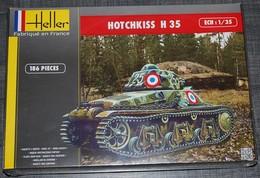 Maquette HOTCHKISS H35 - 1/35 - Véhicules Militaires