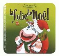 Sous Bock Folies De Noel - Sous-bocks