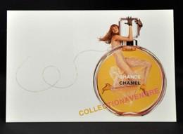 CHANEL : CHANCE  CP : 2002 Avec Patch Au Verso 10 Cmx15 Cm, 2002, Parfait état - Parfums & Beauté