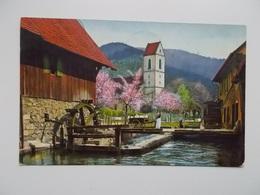CPA Original -  Waterrad, Moulin, Watermolen, 1913  BACONFOY-TENNEVILLE - Fantaisies