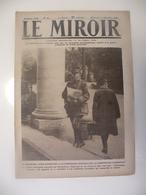 Le Miroir,la Guerre 1914-1918 - Journal N°261 - 24.11.1918 - Foch Et Clemenceau Acclamés,la Cour Du Palais Bourbon - Guerre 1914-18