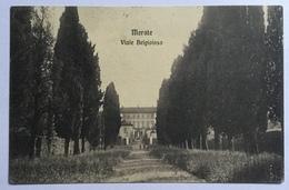 MERATE - VIALE BELGIOIOSO 1914 VIAGGIATA FP - Lecco