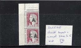 Algérie Française Variété Sans Le E - Algérie (1924-1962)