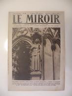 Le Miroir,la Guerre 1914-1918 - Journal N°262 - 1.12.1918 - Délivrance De L'Alsace Lorraine,Mulhouse,Metz,Damas - Guerre 1914-18