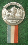 Pre WWII, Slovenia - Ski Jumping / Flights - PLANICA, Competition 14 - 15 Marc 1938.  Badge / Pin / Abzeichen - Winter Sports