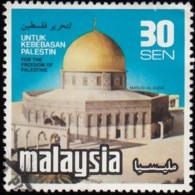 MALAYSIA - Scott #174 Dome Of The Rock / Used - Malaysia (1964-...)