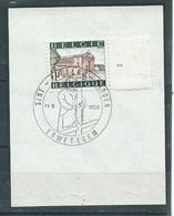 Bekgië   O.B.C.   1424   Plaatnummer 1   Erwetegem - Used Stamps