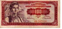 100 Dinara  (01/05/1955) - Yougoslavie