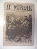 Le Miroir,la Guerre 1914-1918 - Journal N°265 - 22.12.1918 - La Résistance Belge,Bavay,Metz,Colmar,Strasbourg. - Guerre 1914-18