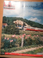 Vie Du Rail 1066 1966 Chateau Chissay Montrichard Bourré  Gievres St Aignan Mennetou Noyers Croix En Touraine - Trains
