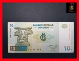 CONGO DEMOCRATIC REPUBLIC D R 10 Francs 1.11.1997 P. 87 B  UNC - Congo