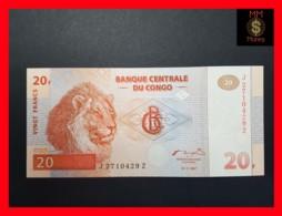 "CONGO DEMOCRATIC REPUBLIC D R 20 Francs 1.11.1997 P. 88 A  UNC  REPLACEMENT  ""Z"" - Congo"