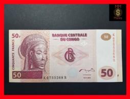 CONGO DEMOCRATIC REPUBLIC D R 50 Francs 4.1.2000 P. 91 A  UNC - Congo
