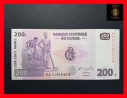 CONGO DEMOCRATIC REPUBLIC D R 200 Francs 31.7.2007 P. 99  UNC - Congo