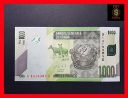 CONGO DEMOCRATIC REPUBLIC D R 1.000 1000 Francs 30.6.2013 P. 101 B  UNC - République Démocratique Du Congo & Zaïre