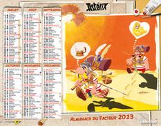 Calendrier Almanach La Poste PTT 2013 Astérix - Grand Format : 2001-...