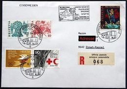 Schweiz Suisse Svizzera 1986: UNIONE SOCIETA'FILATELICHE ASSEMBLEA DELEGATI - LUGANO 18.10.86 UFFICIO POSTALE AUTOMOBILE - Expéditions Antarctiques