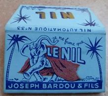 """Carnet De Papier à Cigarettes """"  LE NIL  """"  N° 33  - Joseph Bardou & Fils (  Job  ) - Empty Cigarettes Boxes"""