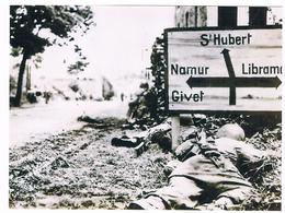 Photo Tirage 15.11.2012 - Reproduction D'une Vue De La Guerre 1940/45 à Situer En Wallonie - Guerre, Militaire