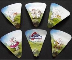EGYPT - LABANITA Set Of Cheese Label 6 Pcs  Etiquette De Fromage - Quesos