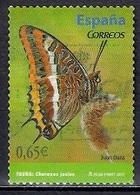 Spain 2011 - Butterflies - Self Adhesive - 1931-Today: 2nd Rep - ... Juan Carlos I