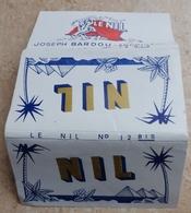 """Carnet De Papier à Cigarettes """"  LE NIL  """"  N° 12 Bis  - Joseph Bardou & Fils (  Job  ) - Empty Cigarettes Boxes"""